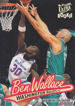 ben wallace rookie card