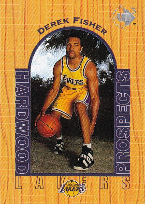 derek fisher rookie card