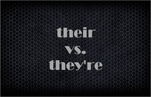 their vs. they're